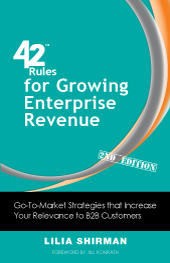 42 Rules for Growing Enterprise Revenue By Lilia Shirman
