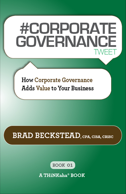 #CORPORATE GOVERNANCE tweet Book01