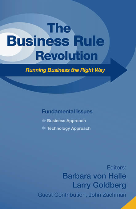 The Business Rule Revolution
