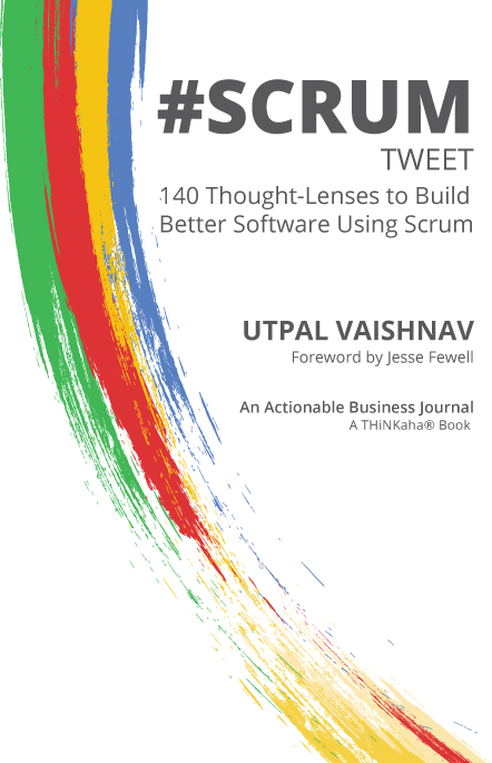 #SCRUM tweet Book01